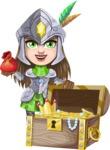 Knightalia Beauty-Mark - Treasure chest 2