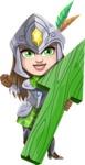 Knightalia Beauty-Mark - Arrow 1
