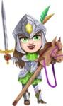 Knightalia Beauty-Mark - Horse rider