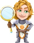 Blonde Prince with Armor Cartoon Vector Character AKA Edgar Medieval - Search