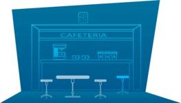 Outline Cafeteria Setup