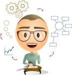 Man Brainstorming