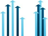 Arrow Bar Graphs