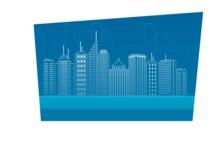 Outline City Buildings
