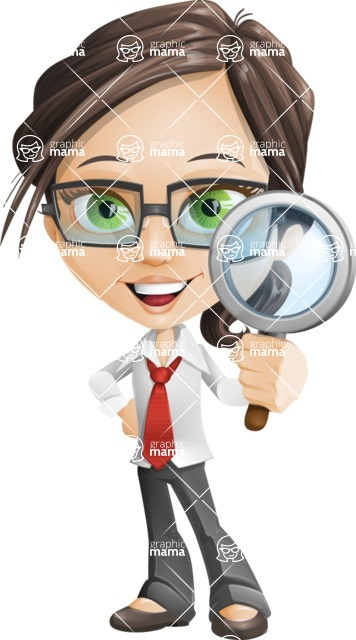 woman vector female cartoon character - Nikki - Search