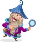 Wizard with Beard Cartoon Vector Character AKA Osborne the Magic Virtuoso - Search