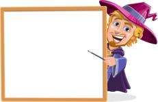 Sorcerer Cartoon Vector Character AKA Magnus the Great Enchanter - Presentation 4