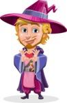 Sorcerer Cartoon Vector Character AKA Magnus the Great Enchanter - Show Love