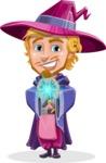 Sorcerer Cartoon Vector Character AKA Magnus the Great Enchanter - Magic 5