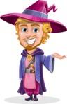 Sorcerer Cartoon Vector Character AKA Magnus the Great Enchanter - Showcase 1