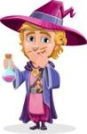 Sorcerer Cartoon Vector Character AKA Magnus the Great Enchanter - Decoction 1