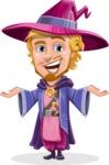 Sorcerer Cartoon Vector Character AKA Magnus the Great Enchanter - Showcase 2