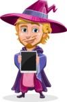 Sorcerer Cartoon Vector Character AKA Magnus the Great Enchanter - Tablet 1