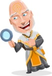 Wizard with Robe Cartoon Vector Character AKA Griffith - Search