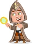 Young Wizard Boy Cartoon Vector Character AKA Ezra the Mage - Search