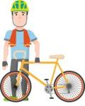 Sportsman Vector Graphics Maker - Character 20