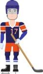 Sportsman Vector Graphics Maker - Character 30