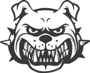 Vector Mascot Collection - bulldog mascot image
