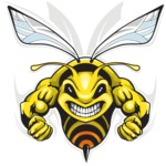 Vector Mascot Collection - Hornet Sport Mascot Design