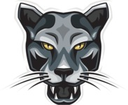 Vector Mascot Collection - Panther Mascot Vector Graphic