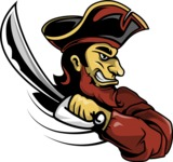 Vector Mascot Collection - Pirate Mascot Clipart