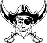 Vector Mascot Collection - Pirate Mascot Graphic