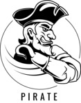 Vector Mascot Collection - Sport Pirate Character Emblem