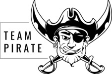Vector Mascot Collection - Sport Pirate Mascot Style Logo