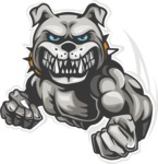 Vector Mascot Collection - Bulldog Mascot Clipart