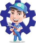 Ashton the Mechanic - Shape 11
