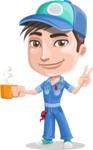 Ashton the Mechanic - Coffee