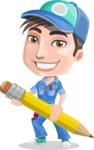 Ashton the Mechanic - Pencil