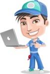 Ashton the Mechanic - Laptop 1