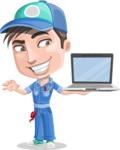 Ashton the Mechanic - Laptop 3