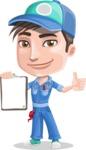 Ashton the Mechanic - Notepad 1