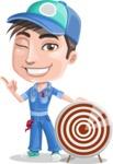 Ashton the Mechanic - Target