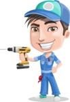 Ashton the Mechanic - Drill