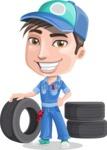 Ashton the Mechanic - Tires