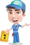 Ashton the Mechanic - Oil