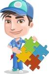 Ashton the Mechanic - Puzzle
