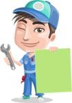 Ashton the Mechanic - Sign 6