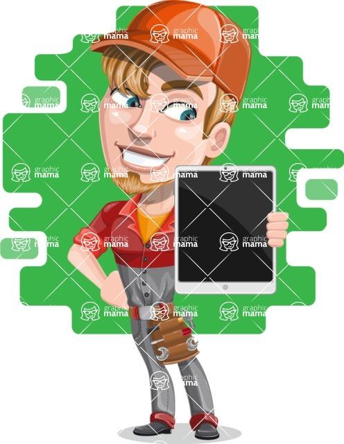 Kyle the Problem Solver Mechanic - Shape 7