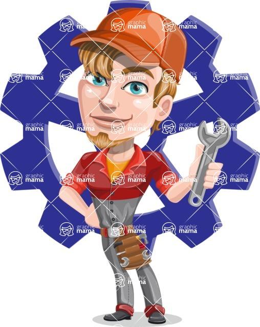 Kyle the Problem Solver Mechanic - Shape 11