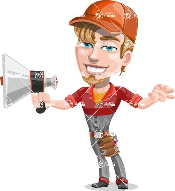 Kyle the Problem Solver Mechanic - Loudspeaker