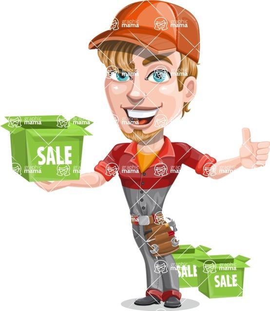 Kyle the Problem Solver Mechanic - Sale