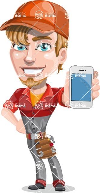 Kyle the Problem Solver Mechanic - iPhone