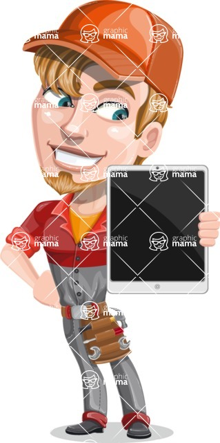 Kyle the Problem Solver Mechanic - iPad 2