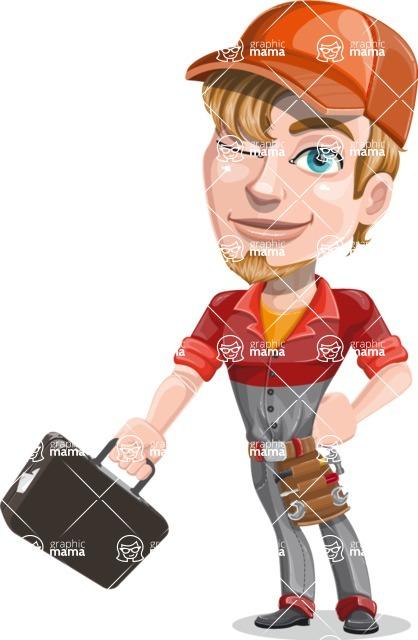Kyle the Problem Solver Mechanic - Briefcase 1