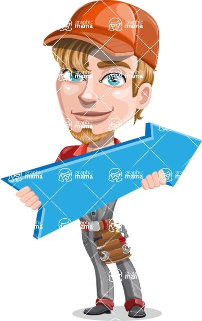 Kyle the Problem Solver Mechanic - Pointer 2
