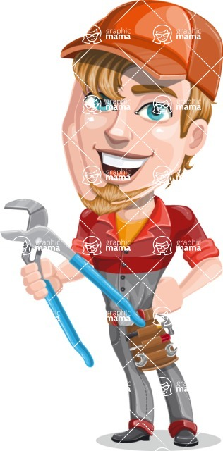 Kyle the Problem Solver Mechanic - Pliers